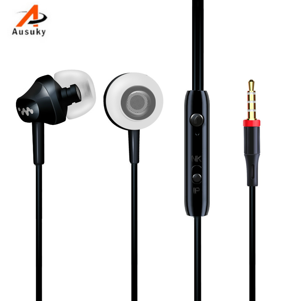 Ein ausuky 3,5 mm In Ear Geräuschisolation Heavy Bass Kopfhörer - Tragbares Audio und Video