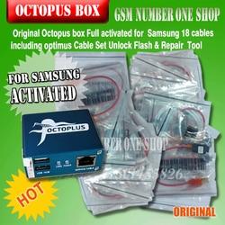 gsmjustoncct 100% Original 2019 new octopus box / Octoplus Box For SAMSUNG + 19 Cables for SAM  Unlock Flash Repair Mobile Phone