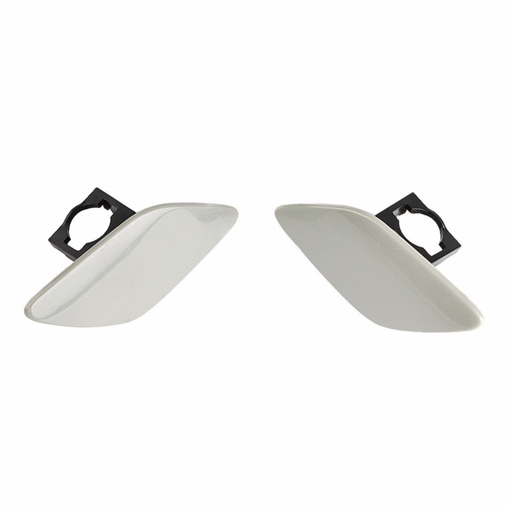 Image 3 - 1 Pair Car Headlight Headlamp Washer Cover Cap Front Light Lamp Cover For BMW E92 Coupe E93 Convertible 328i 328xi 335i xDrive-in Car Covers from Automobiles & Motorcycles