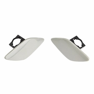 Image 3 - 1 Pair Car Headlight Headlamp Washer Cover Cap Front Light Lamp Cover For BMW E92 Coupe E93 Convertible 328i 328xi 335i xDrive