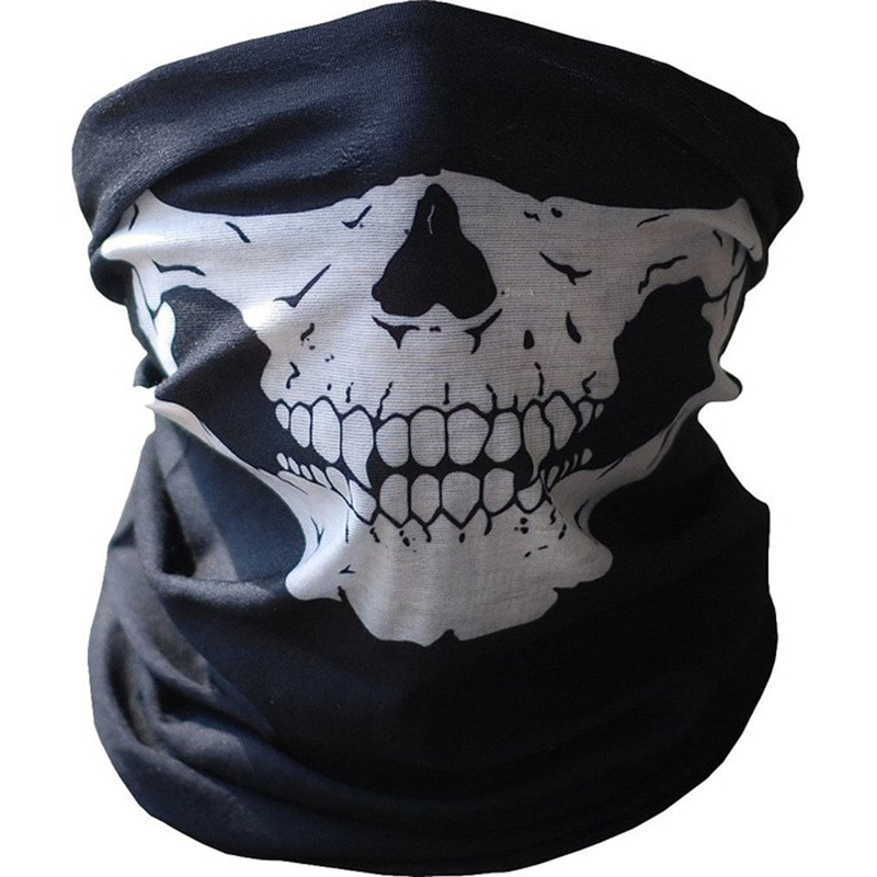 Motorcycle Skull Ghost Face Windproof Mask Outdoor Sports Warm Ski Caps Bicycle Bike Balaclavas Masks Scarf Halloween Masks