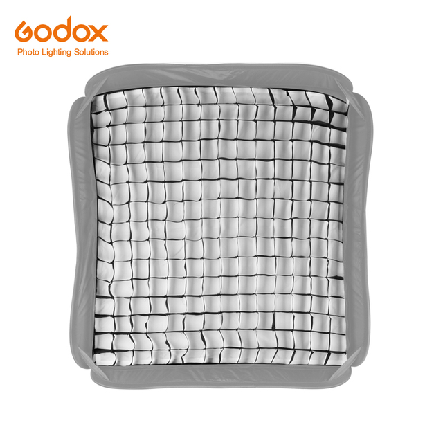 "Godox s type Softbox 60x60cm Grid Portable 60x60cm 24 ""x 24"" Photo Softbox griglia a nido dape per Studio Srobe Flash Light (solo griglia)"