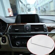Для BMW 3 4 серии F30 F34 428i 318i 320li 328li 2013-2017 автомобилей Интимные аксессуары ABS Матовый хром AC вентиляционный Выход Рамки Отделка 1 шт.