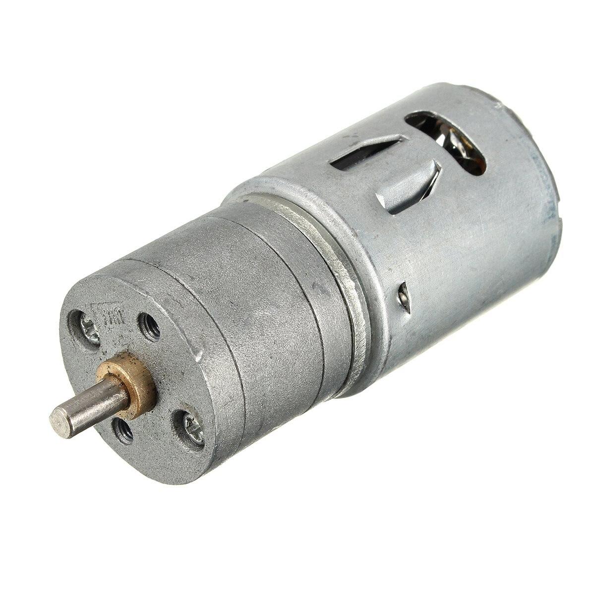 12v 6v Dc 100rpm Powerful Torque Micro Speed Reduction
