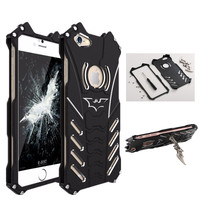Luxury Batman Design Metal Aluminum Armor Hard For Case Iphone 5 5S SE Cover Phone Cases