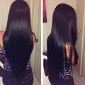 Mslynn Топ 7А Необработанные Камбоджийский Прямо Девы Волос 3 Bundle Предложения, Мягкая Камбоджийский Девственные Волосы Прямые Человеческих Волос Пучки