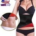 Neopreno caliente Shapers Súper Estiramiento Sudor Sudor Caliente Que Adelgaza La Correa de Cintura Tren Fat Burner Tummy Corsés Fajas Modeladoras