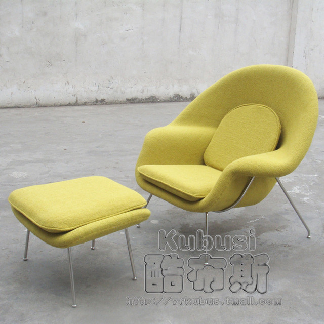 silla womb chair fibra de vidrio