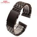 Prata aço inoxidável strap preto 24 mm 26 mm 28 mm 30 mm relógio do metal banda disponível DZ4283 DZ7221 DZ7257