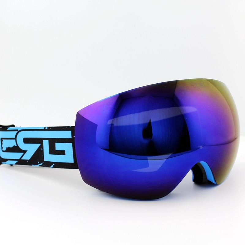 51e3159103401 Lente púrpura azul Marcos marca gafas de esquí doble UV400 anti-niebla gran  esquí máscara Gafas esquí hombres mujeres nieve snowboard gafas