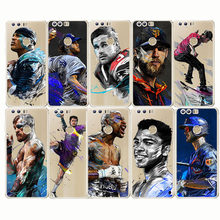 2018 Ronaldo Messi Neymar Football Barcelona Soccer Star Sport Soft Silicone Phone Cases Cover for huawei honor 8 9 10 lite(China)