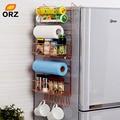 Organizador de cocina de múltiples capas de estante para refrigerador de ORZ