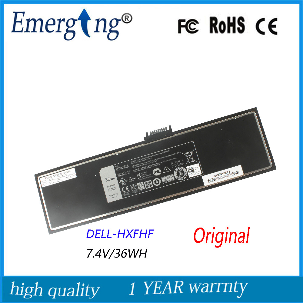 7.4v 36Wh Original New High Capacity Quality Laptop Battery for DELL Venue 11 Pro (7130) HXFHF стоимость