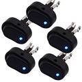 Car Boat Truck Motorcycle Rocker Switch ON/OFF 30 Amp 12 Volt LED Marine Switches 5pcs/Lot
