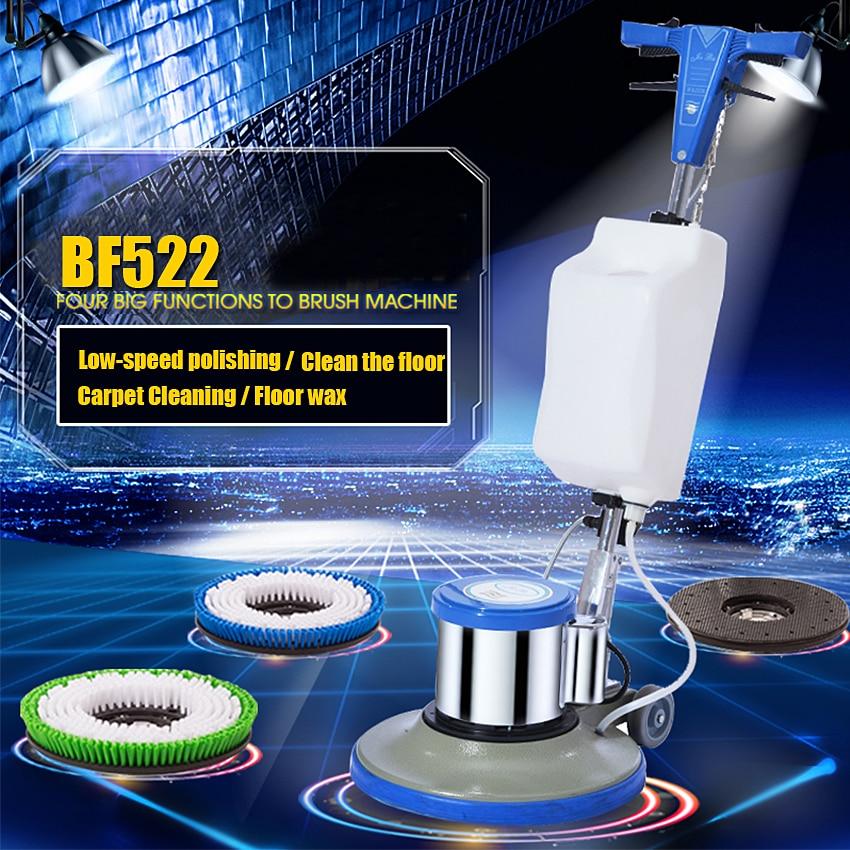 New BF522 Household Hotel Carpet Cleaning Brushes Push Type Washing Floor Wiping Machine Carpet Cleaning/Waxing/Wax 175RPM 220V|clean carpet machine|floor waxing machine|carpet cleaning -