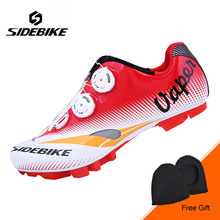 SIDEBIKE Professional MTB Bike Shoes Men Outdoor Mountain Bicycle Shoes Anto-lock Cycling Shoes Breathable Non-slip Bike Shoes