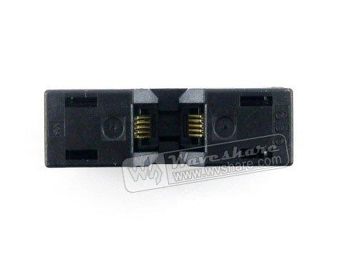 module MSOP10 SSOP10 TSSOP10 656-0102211 Wells IC Test Burn-In Socket Programming Adapter 3mm Width 0.65mm Pitch free shipping msop 10 msop10 universal adapter for usb programmer ic adapter sockets