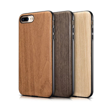 Wooden Texture Back Cover for iPhone 7 / 7 Plus