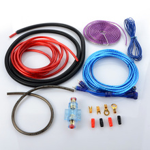 Audio Speaker Wiring kit Cable Amplifier Subwoofer Speaker Installation Wire 6GA