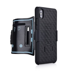 Image 4 - スポーツケース腕章 iphone 11 pro x xr xs 最大カバー運動電話ホルダーアームバンドキックスタンドバックケースシェル