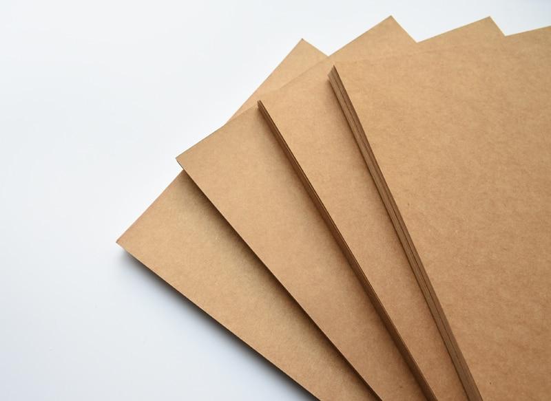 коричневая бумага Kraft; карта бумага; коричневая бумага Kraft;