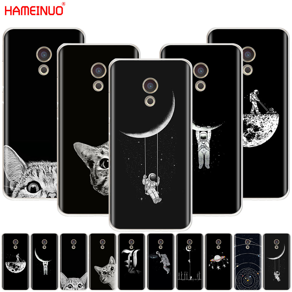 Cellphones & Telecommunications Orderly Hameinuo Space Moon Cute Cats Black Cover Phone Case For Meizu M6 M5 M5s M2 M3 M3s Mx4 Mx5 Mx6 Pro 6 5 U10 U20 Note Plus