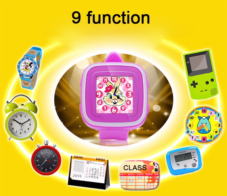 Watch Android Kids Smartwatch Color 1.5 Screen Games Watches Wearable Devices Children Fitness Tracker Sleep Monitor 4 Color (16)