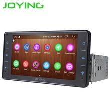 Радуясь Android 6,0 gps навигации Универсальный один 1 DIN 6,2 «Car Радио стерео 4 ядра головное устройство Поддержка рулевое колесо камера