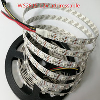 DC12V WS2815(WS2813 Update) 5050 RGB Led Pixel Strip,Individually Addressable 30/60/144 LEDs/m;white/black pcb IP30 IP65 IP67