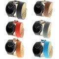 Роскошный Двухместный Удлиненные Тур Ремень Металлическая Пряжка Браслет Натуральная Кожа Смотреть Band Для Huawei Смарт Часы Huawei Watch Band