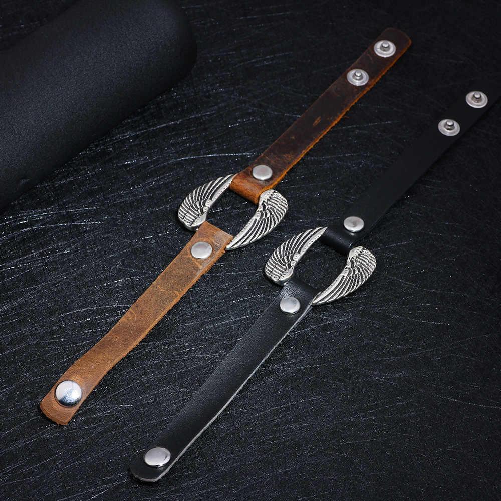 Vintage Double Angel Wing Bracelets for Women Men Jewelry ...