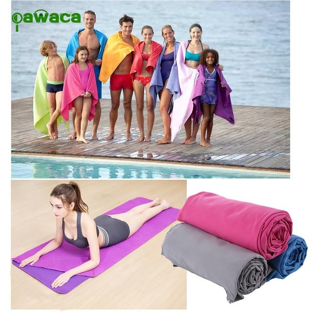 2pc/set Outdoor Sports Quick-Dry Bath Set Towel Microfiber Non Slip Towel for Bath Gym Camping Yoga Mat Beach Towel Blanket