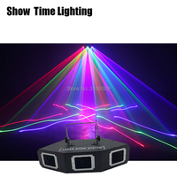 Fast delivery 3 Len Red Green Blue Scanner beam Laser Light sector& Bar Laser DJ Party Show Club Holiday Home Bar Stage Lighting