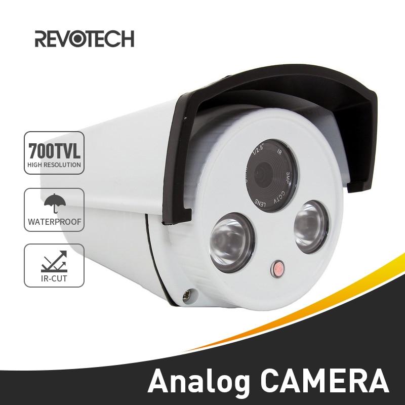 700TVL wodoodporna zewnętrzna noktowizor CCTV 2 matryca LED IR Sony effio-e CCD / CMOS kamera ochrony kamera wideo System