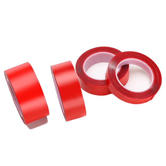 Vexverm Car Acrylic Tape Transparent Silicone Double Sided Tape Sticker For Car High Strength No Traces Adhesive Sticker 5