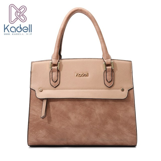 Kadell известный дизайнер сумки Высокое качество Ретро стиль Tote для женщин сумки на плечо Bolsa Feminina 2018 сумка через плечо