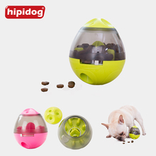 Hipidog Pet Dog Cat Tumbler Food Balls Toy Interactive Dogs Cats Playing Training IQ Puzzle Plastic Toys Supplies