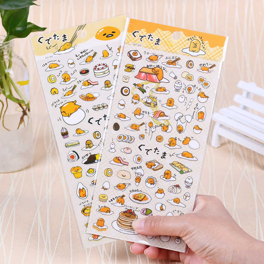 1 PC Cartoon PVC Transparant Lui Ei Sticker Kalender Dagboek Boek Sticker Plakboek Decoratie Kantoorbenodigdheden Gift