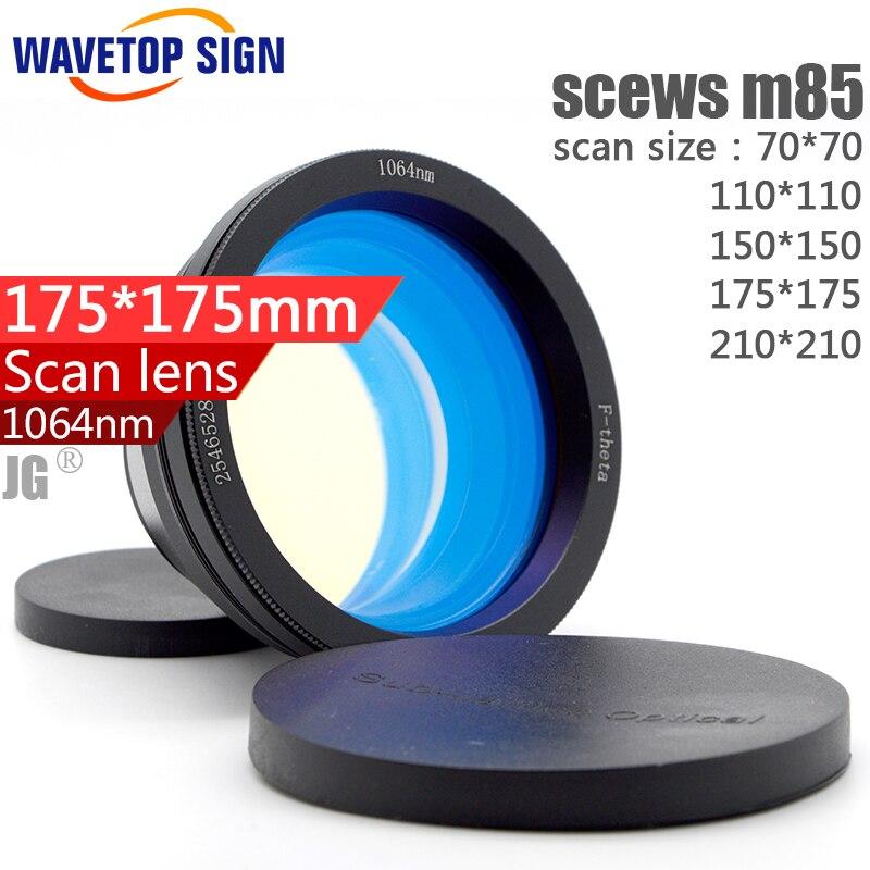 1064nm scan lens  yag laser scan lens  fiber laser scan lens size: 70*70 110*110 150*150 175*175 210*210mm d1370 laser printer monochrome laser print copy scan fax send lega