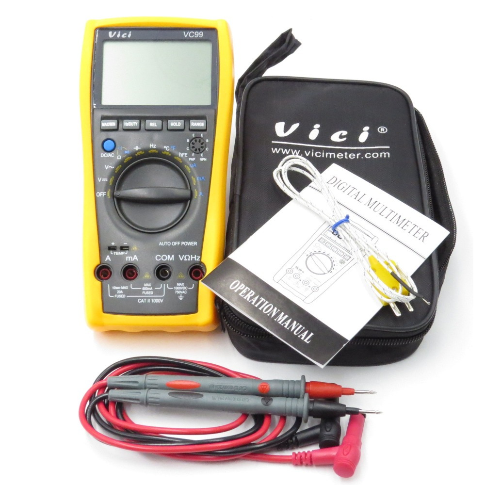 Different Types Of Multimeters : Vc multimeter reviews online shopping