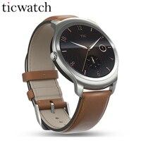 Smartwatch телефон Ticwatch2 MT2601 1,2 ГГц 512 М Оперативная память 4 г Встроенная память 1,4 ''gps здоровья трекер IP65 Водонепроницаемый носимых устройства ко