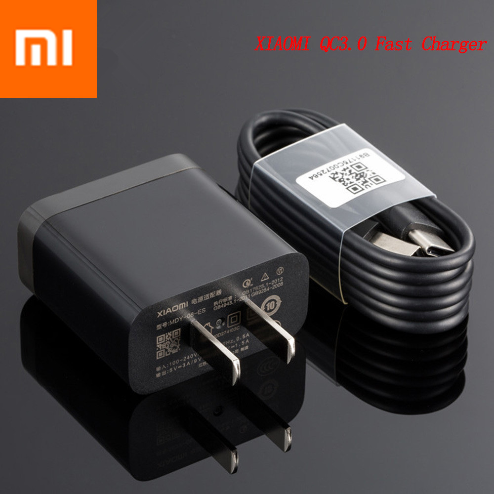 Cellphones & Telecommunications Original Xiaomi Mi 9 Fast Charger Qc 4.0 27w Usb Wall Quick Charge Adapter Usb 3.1 Data Cable For Mi9 Se Mi 8 7 F1 Mix 2 2s 3 Mobile Phone Chargers