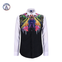 Mr 1991INC 2017 Spring Autumn Features Shirts Men Casual Shirt New Arrival Long Sleeve Casual Slim