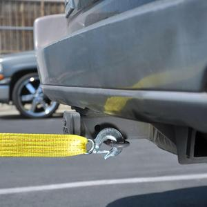 Image 5 - MYSBIKER Heavy Duty Tow Strap with Safety Hooks