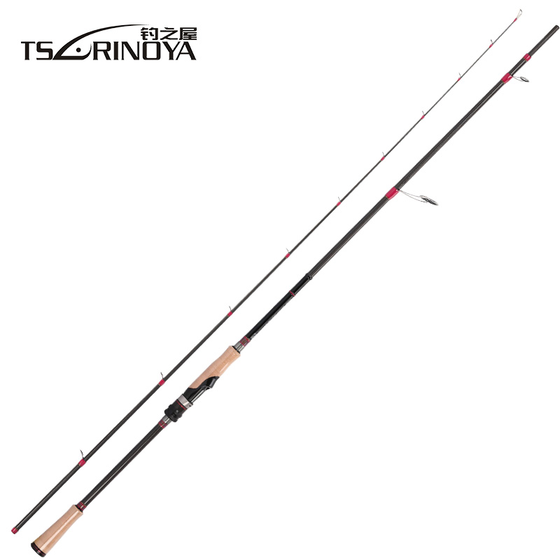 TSURINOYA SWORDSMAN 2.62m MH Power Spinning Casting Fishing Rod 4-12 lb Fast Action Spinning Rod Canne A Peche Fishing Tackle