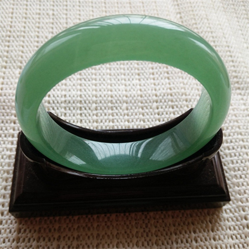 Top Quality 100% Natural Grass-green Aventurine Jades Dongling Round Bangle&Bracelet Women's Gift Fashion Bangle Jades Jewelry top quality 100% natural dark green hetian stone bangle 2018 new narrow side women s gift bracelet nephrite qing jades jewelry
