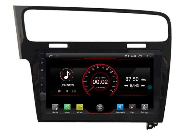 64 GB rom 8 core Android 8.1.2 voiture GPS pour Golf 7 2013-2015 noir écran tactile radio DSP stéréo navigation carplay multimédia - 3