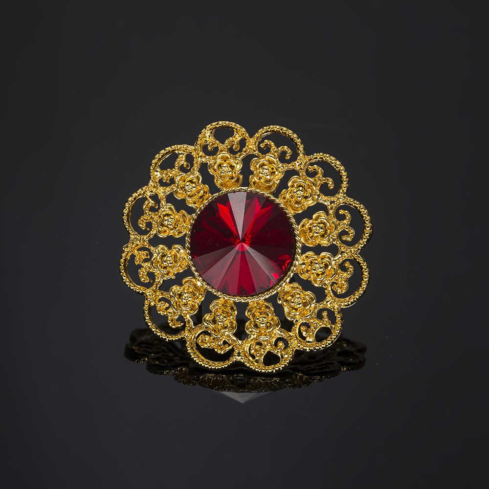 MUKUN ブライダルジュエリーセットナイジェリアビッグネックレスイヤリングセット高級ドバイゴールドカラージュエリーセット女性エチオピア結婚式の設計