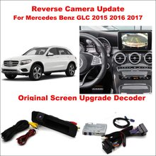 Reviews Liislee For Mercedes Benz GLC 2015 ~ 2017 Original Screen Update System / Digital Decoder / Reversing Track Image + Rear Camera