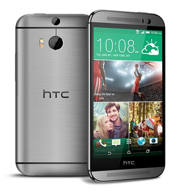 "Refurbished Original HTC ONE M8 Unlocked Cell Phone 5.0"" Screen Quad-Core 2GB RAM 32GB/16GB ROM Dual Back Cameras 2"